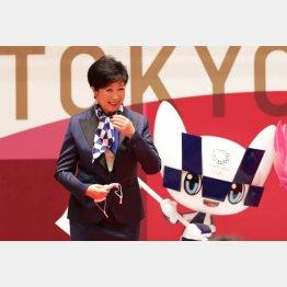 東京五輪開催100日前イベントでは「コロナを抑え込み、大会が開催できるよう準備を進めたい」と語った小池都知事だが(C)JMPA