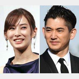 永山瑛太(右)の奇人ぶりも話題の「リコカツ」は妻役・北川景子(左)がファッション誌の編集者(C)日刊ゲンダイ