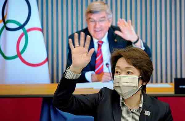 バッハ会長の来日までの解除を狙う(C)ロイター