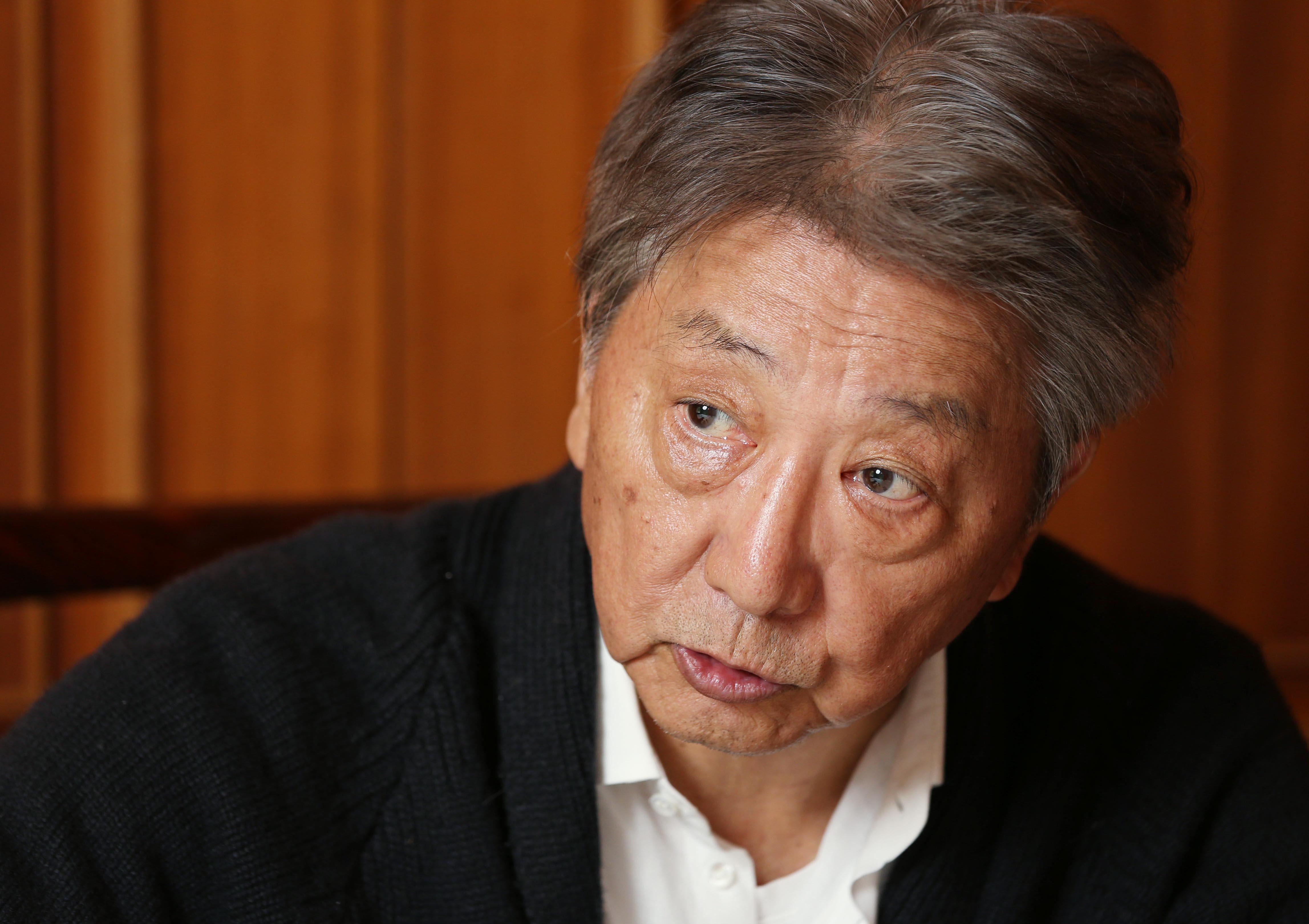 伊集院静氏(C)日刊ゲンダイ