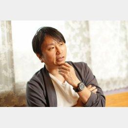 芥川賞作家の上田岳弘氏(C)日刊ゲンダイ
