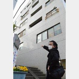 写真① 村西とおるがAVを作り始めた時の最初のビル(C)日刊ゲンダイ
