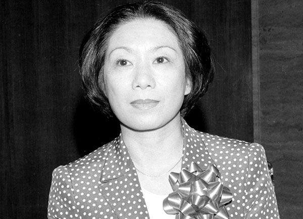 作家の向田邦子さん(C)共同通信社