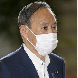 6日午前、首相官邸に入る菅首相(C)共同通信社