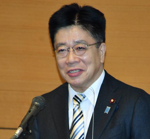 笑えない(加藤勝信官房長官)/(C)日刊ゲンダイ