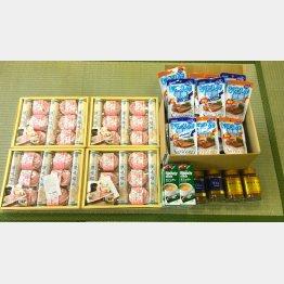 東京・中野区にある子ども食堂「上高田みんなの食堂」に寄付された品々(提供写真)