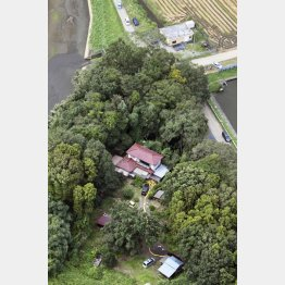 茨城・境町の被害者の自宅(C)共同通信社