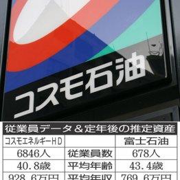 コスモエネルギーHD×富士石油 逆風の石油製品関連を比較