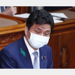 民間に丸投げ(岸防衛相)/(C)日刊ゲンダイ