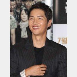 ヴィンチェンツォ・カサノを演じるソン・ジュンギ(C)Yonhap News/ニューズコム/共同通信イメージズ