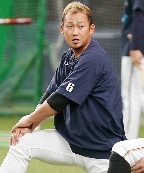 一軍選手登録を抹消された中田(C)日刊ゲンダイ