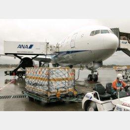 日本は輸入に頼らざるを得ない(ベルギーから到着したファイザー社の新型コロナウイルスワクチン)/(C)共同通信社