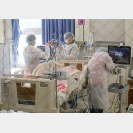 吉村府知事は「大阪コロナ重症センター」の2期計画・30床増設もほったらかし(C)共同通信社