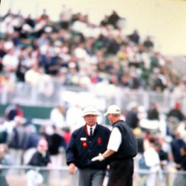 川田太三さん<3>1990年全英オープンからレフェリーに抜擢