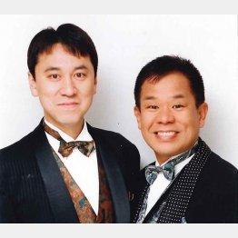 リッキーこと岡さん(左)とぶっちゃあさん(C)日刊ゲンダイ
