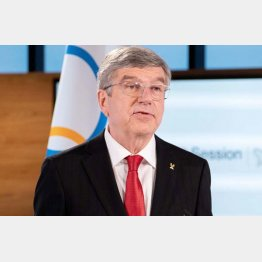 「犠牲を払わなければいけない」(IOCのバッハ会長)/(C)ロイター
