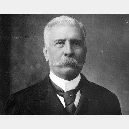 ①1876年、大統領となったディアス(C)World History Archive/ニューズコム/共同通信イメージ