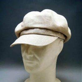 薄毛白髪の悩みにはハンチングorキャスケットの若見え帽子