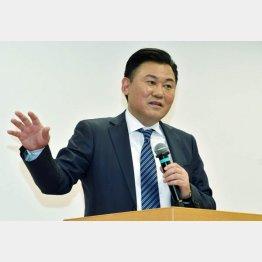 楽天グループの三木谷浩史会長兼社長(C)日刊ゲンダイ