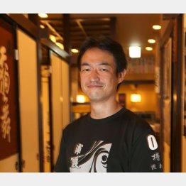 「樽一」の佐藤慎太郎さん(C)日刊ゲンダイ