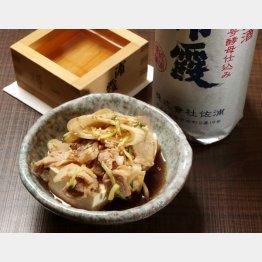 合う酒=冷酒(C)日刊ゲンダイ