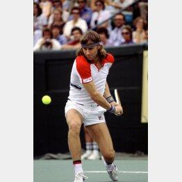 1983年、26歳の若さで突然引退したB・ボルグ(C)ロイター/Action Images