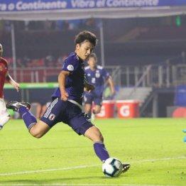 上田綺世は東京五輪の先に「5大リーグで活躍」の夢を見る