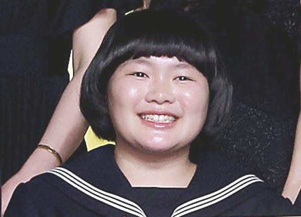 「ソロモンの偽証」製作会見での富田望生(C)日刊ゲンダイ