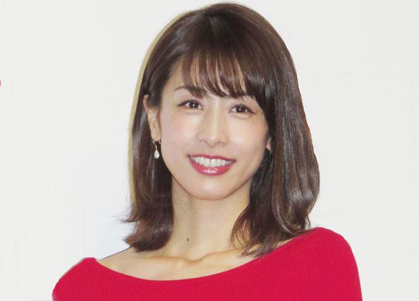 フリーアナウンサーの加藤綾子(C)日刊ゲンダイ