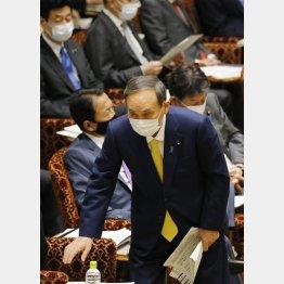 「黙らせろ。首相にでもなったつもりなんじゃないか」(菅首相)/(C)日刊ゲンダイ