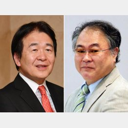 竹中平蔵氏(左)と高橋洋一氏(C)日刊ゲンダイ