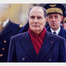 ミッテラン仏大統領(1987年) (C)ロイター/HANS LUCAS