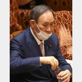 挙国一致の旗振る首相(C)日刊ゲンダイ