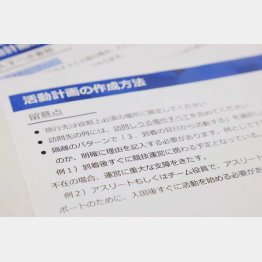 まるでテスト用紙に模範解答を一緒に書いているようなもの(C)日刊ゲンダイ