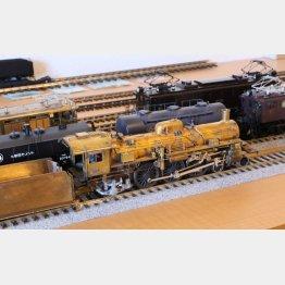 98年から作り続けている未完の傑作蒸気機関車「C55」(提供写真)