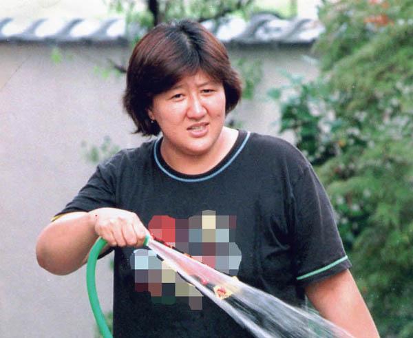 林真須美死刑囚(1998年撮影)/(C)日刊ゲンダイ