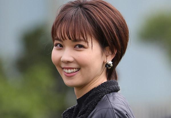 野球取材中のABC朝日放送・ヒロド歩美アナウンサー(C)日刊ゲンダイ