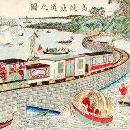 <上>高輪築堤には150年前の文明開化の土木技術がはっきり