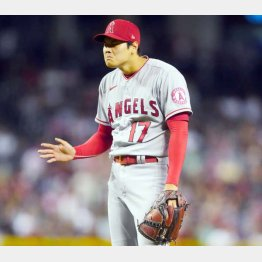 Why?(大谷)/(C)ロイター/USA TODAY Sports