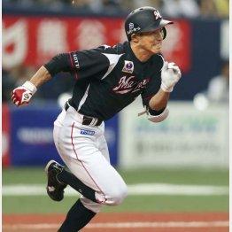 荻野は入団以来、11年連続2ケタ盗塁をマーク(C)共同通信社