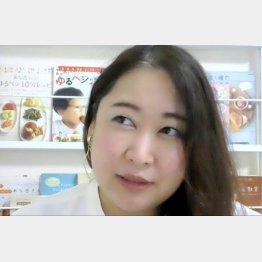 全日本ズボラ主婦連盟会長の浅倉ユキさん(C)日刊ゲンダイ