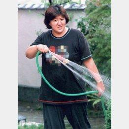 林真須美死刑囚(1998年8月27日撮影)/(C)日刊ゲンダイ