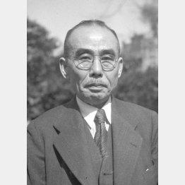石橋湛山は第55代内閣総理大臣を務めた(C)共同通信社