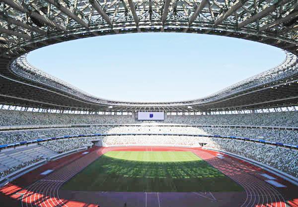 国立競技場もさまざまな犠牲があって造られた(C)日刊ゲンダイ