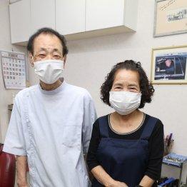 阪神・真弓も来店…極楽亭主と上げマン女房が営む理容室