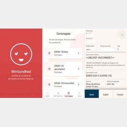 デンマークの健康管理アプリ
