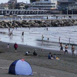 """海開き中止で今年は""""無法地帯""""?湘南エリアは判断真っ二つ"""