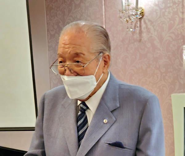 藤木幸夫・横浜ハーバーリゾート協会会長(C)日刊ゲンダイ