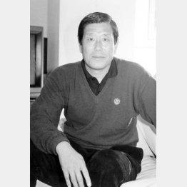 横山謙三氏(C)本紙・絹見誠司 1991年撮影
