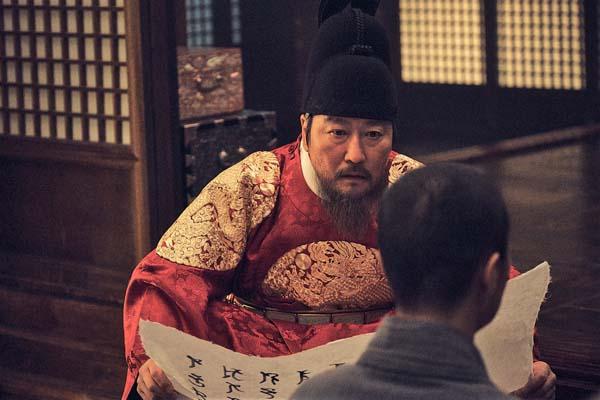 映画「王の願い ハングルの始まり」(C)2019 MegaboxJoongAng PLUS M,Doodoong Pictures ALL RIGHTS RESERVED.